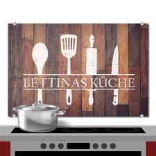 spritzschutz holz küche individuell
