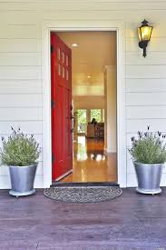 traditional front door with front porch siding in healdsburg