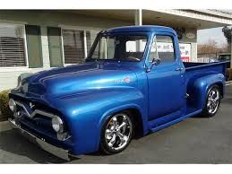 1956 Ford F100 For Sale | ClassicCars.com | CC-1058715 1956 Ford F100 Panel Hot Rod Network Classic Cars For Sale Michigan Muscle Old Ford F800 Alto Ga 977261 Cmialucktradercom Pickup Allsteel Truck Sale Hrodhotline 2door Pickup Big Back Window Original V8 Fordomatic Big Window Truck Project 53545556 Rides Pinterest Trucks And Trucks Coe Accsories 4clt01o1956fordf100piuptruckcustomfrontbumper