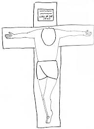 Crucifixion 2 Coloring Page
