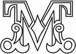 Cirque Letter M