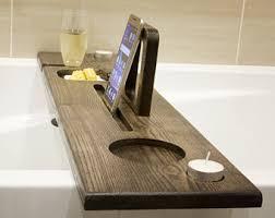 Bath Caddy With Reading Rack Uk by Bath Caddy Etsy