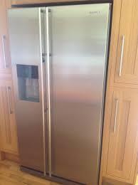 Samsung Refrigerator Leaking Water On Floor by Samsung American Style Fridge Freezer Model Rsh1dbrs Nothing But