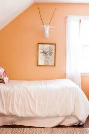 wandfarbe apricot der frische trend bei der wandgestaltung