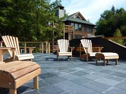 slate patio designs slate patios with brick walls paver laying