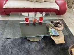 sale glas tisch wohnzimmertisch glas pefa sofa tisch
