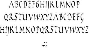 Image For Rustic Capitals Font