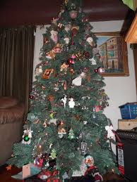 Unlit Christmas Trees Sears by Christmas Tree Very Very Busy Mom