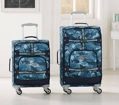 Mackenzie Navy Shark Camo Spinner Luggage | Pottery Barn Kids AU 176 Best Best Luggage And Suitcases For Travel Images On Pinterest Packing Guide The Bags 8 Spinner Luggage Sets Mackenzie Firetruck Pottery Barn Kids Au Star Wars Droids Hard Sided Great Room Pictures From Diy Network Blog Cabin 2015 Vintage Bon Voyage Kate Spade Bag Suitcase 511 Back To School With Fairfax Collection Youtube 25 Barn Teen Bpacks Ideas Panda