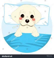Cute Little Pet Puppy Dog Ill Stock Vector Shutterstock