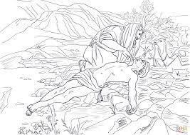 Click The Good Samaritan Coloring Pages