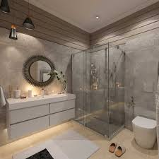 Decorating Dark And White Bathroom Ideas With A Cool Design Which