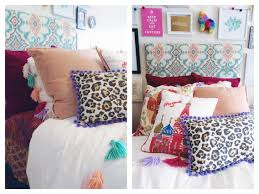 Lilly Pulitzer Bedding Dorm by My Boho Chic Anthropologie Inspired Dorm Room At Scad Diy Ikat