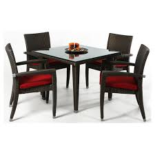Outdoor All Things Cedar Rattan 5 Piece Dining Patio Set ... 315 Round Alinum Table Set4 Black Rattan Chairs 8 Seater Ding Set L Shape Sofa Brown Beige Garden Amazoncom Chloe Rossetti 17 Piece Outdoor Made Coffee Table Set Stock Photo Image Of Contemporary Hot Item Modern Fniture Stainless Steel And Lordbee Large 5 Pcs Patio Wicker Belleze 3 Two One Glass Details About Chair Cushion Home Deck Pool 3pc Durable For Pcs New Y7n0