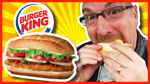 Sofa King Burger Menu by Burger King Ultimate Original Chicken Sandwich Review Youtube
