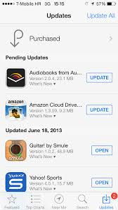 How To Turn automatic updates on off on iOS 7