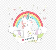 Unicorn Rainbow Euclidean Vector Color