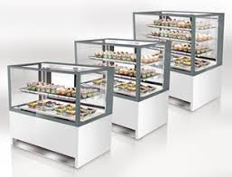 Oscartek Display Cases Gelato Pastry Deli Pre Packaged Food