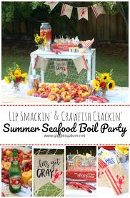 Crawfish Boil Decorating Ideas 525 best party ideas images on pinterest birthday party ideas