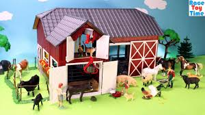 Schleich Farm World Red Barn Playset - Fun Farm Animals Toys For ... 3d Wooden Puzzle Toy How To Make A Farm Barn Youtube Woodworking Building Plans Barn A Tour Of My Homemade Sleich From Craft Sticks And Box Breyer Freestanding Horse Fencing Wooden Robot Toy Dollhouse Montessori Wood Build Set Disassemble Brick Little Red Cboard Joyfully Weary Playmobil Animals Toys Sets Videos Collection Stable For Kids Crafts Pinterest Car Garage Download Free Print Ready Pdf Diy Tutorial Cboard Box Boxes Diy Stall Dividers