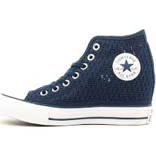 100 Star Lux Galleon Converse Chuck Taylor All Mid 552696C Dress Blues