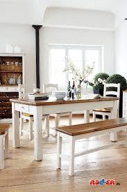 esstisch kiefer massiv weiß speisezimmereinrichtung