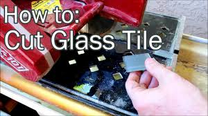 Mk170 Ceramic Tile Saw by How To Cut Glass Tile Youtube