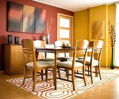 Area Rugs For Dining Rooms Contemporary Room Rug Interesting Round Table