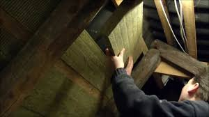 Insulating Cathedral Ceiling With Roxul by Insulating The Attic With Rockwool Batts 005 Youtube