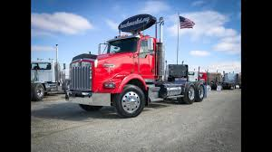 2003 Kenworth T800 Tandem Axle Daycab For Sale - YouTube
