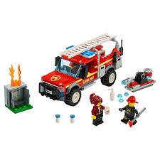 100 Fire Trucks Toys LEGO City Chief Response Truck 60231 RUs