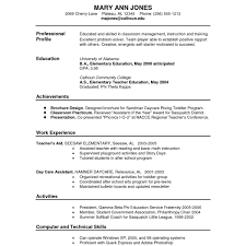 How To Write A Resume Examples And Samples 20 Inspirational Academic