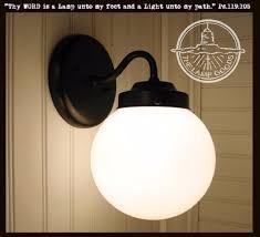 winterport ii globe sconce light fixture the l goods