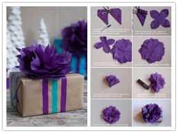 DIY Tissue Paper Flower Topper Tutorial 1