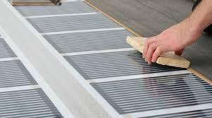 attractive laminate flooring over radiant heat installing hardwood