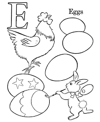 Free Printable Easter Coloring Pages Of Ducks Duck Bunny Eggs Colouring