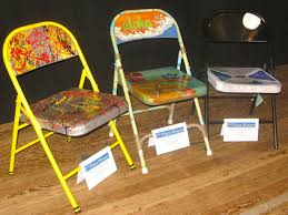 100 Folding Chair Art Ish Recycled Contest Winners Maui Time