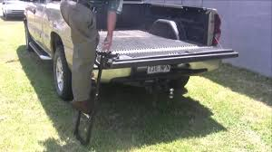100 Truck Tailgate Steps Pickup Step LadderEasily Removed Folds Out Of The Way