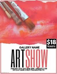 Spring Day Flyer Template Art Show