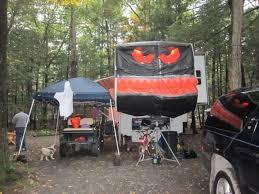 Camper Decor For Halloween Weekends At Naturalspringsresort