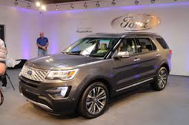Ford Explorer Captains Chairs Second Row by 2016 Ford Explorer Starts At 31 595 New Platinum At 53 495
