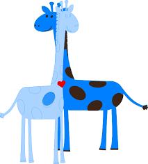Boy Giraffe Baby Shower Clip Art at Clker vector clip art