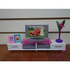 miniatures wooden doll house living room set sofa table furniture