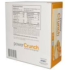 BNRG Power Crunch Protein Energy Bar Peanut Butter Creme 12 Bars 14