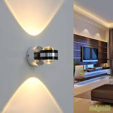 modern aluminum 2w led wall l ceiling lights tv wall hallway