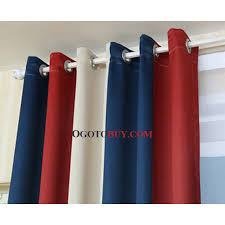 Navy And White Striped Curtains Canada by Blue And Red Striped Curtains Rooms