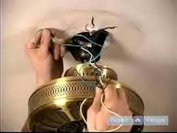 Hunter Ceiling Fan Hanging Bracket by How To Install Ceiling Fans How To Hang The Fan U0026 Attach The