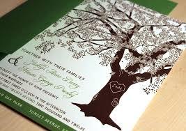 Rustic Tree Wedding Invitations Laser Cut In Addition To Fall Invitation