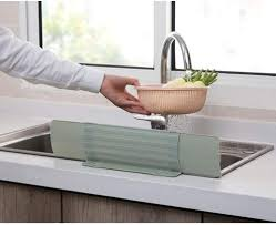 wasser spritzschutz für waschbecken für küche spritzschutz