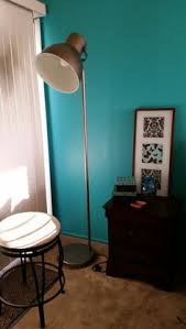 Hektar Floor Lamp With 3 Spotlights by The Oversized Lamp Head Gives Both A Good Concentrated Light For